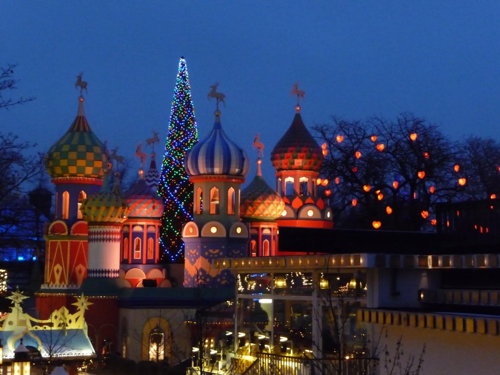Simple Pleasures Copenhagen Tivoli Christmas Lights