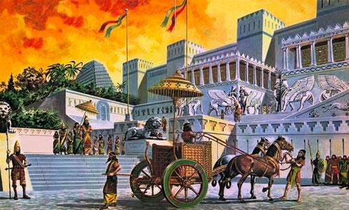days of Assyrian glory