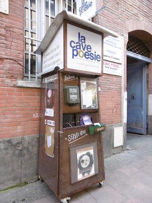 Lettres en cave, rue du Taur, Toulouse, malooka