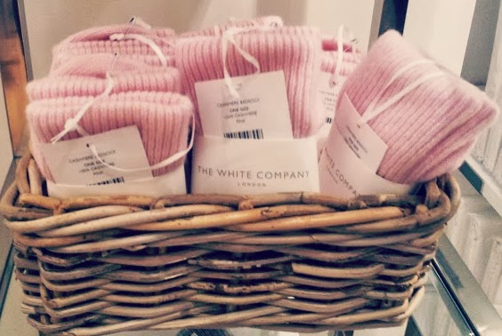, Champagne and Loveliness- The White Company opens today at St David's, Cardiff