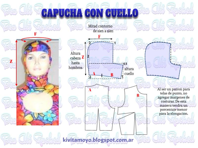 CAPUCHA CON CUELLO