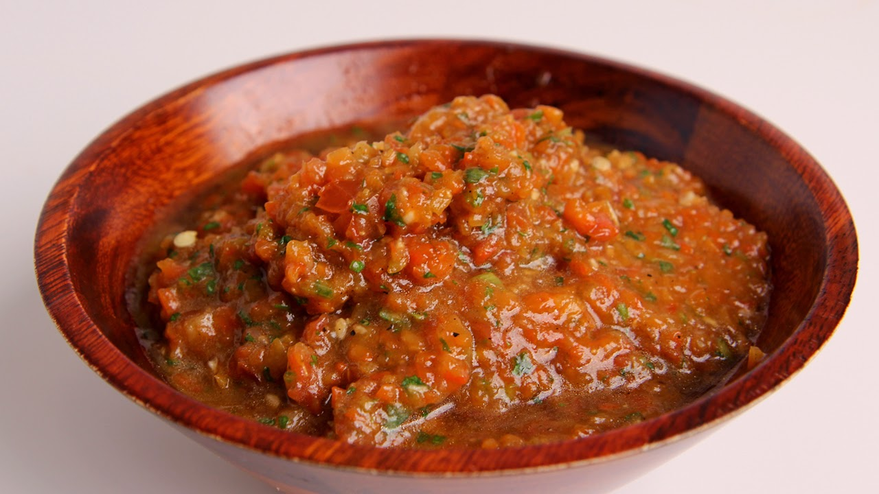 Roasted Pepper Salsa Recipe