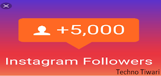 Instragram Par Followers Kaise Badhaye-Techno Tiwari