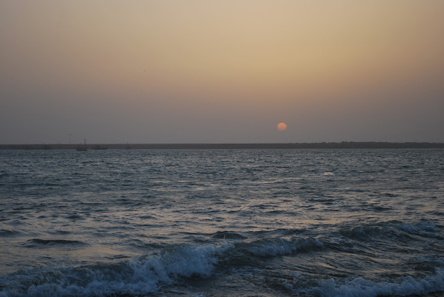 Sunset @ porbandar