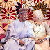 Checkout This Hilarious Photo Of Zahra Buhari & Hubby Indimi At Their Wedding