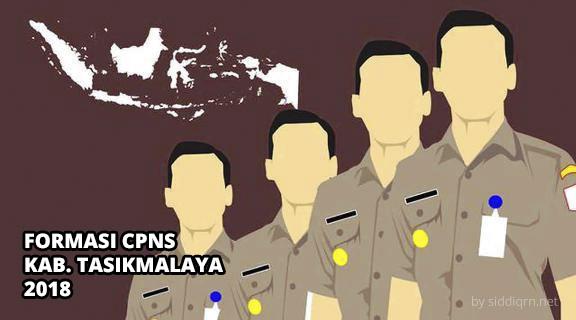 Formasi Resmi CPNS Kabupaten Tasikmalaya 2018