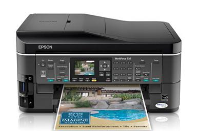 Download Epson WorkForce 635 Drivers