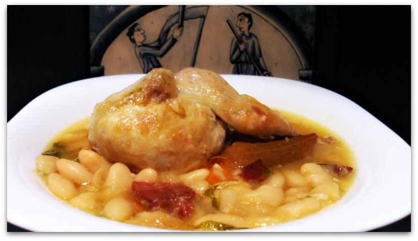 Cocina y reposter a de anta o alubias con codorniz - Alubias con codornices ...