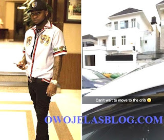 Davido New House
