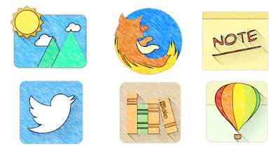 Sketchy - Icon Pack V1.28