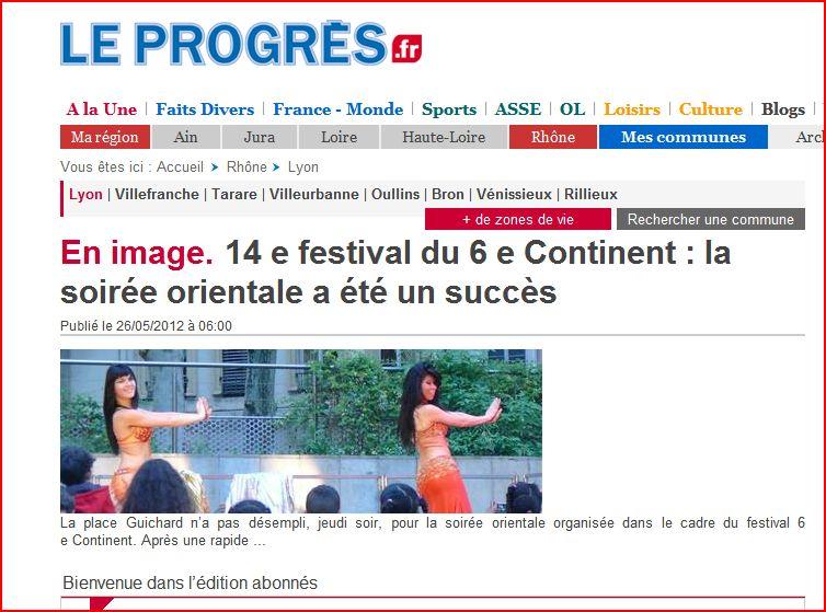 festival sixième continent