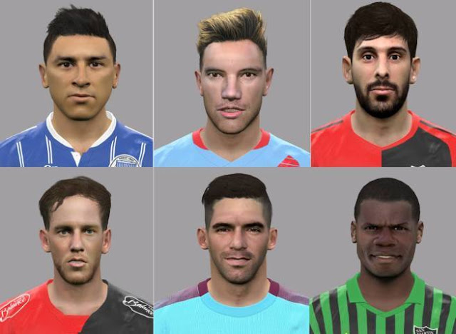 Face Pack PES 2017