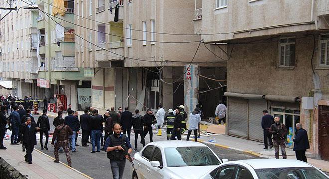 Diyarbakır Bağlar Şeyhşamil Mahallesinde patlama: 1 ölü