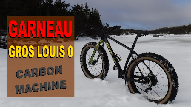 Garneau carbon fatbike carbon fat bike