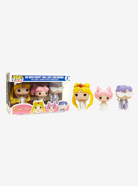 Hot Topic Pack de 3 Funko Pop Sailor Moon