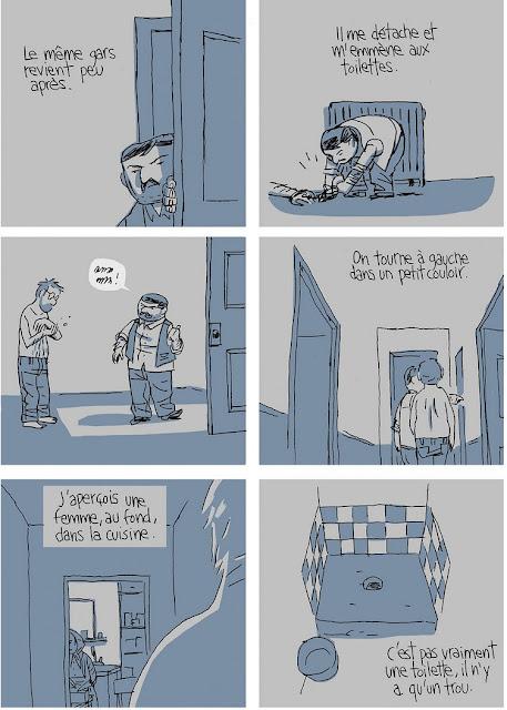 S'enfuir de Guy Delisle planche 2