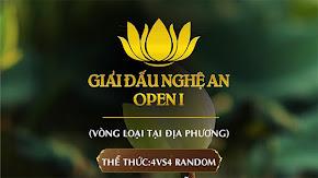 [AoE] Cập nhật danh sách và lịch thi đấu Vòng Sơ Loại AoE Nghệ An Open I