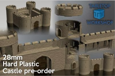 Trouble At T'Mill - a wargaming blog: Tabletop Workshop Castle