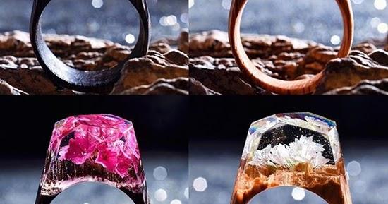 21 kerajinan cincin unik dari bahan epoxy resin  1000