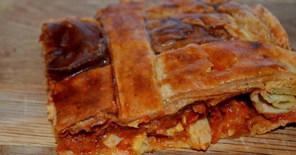 Las recetas de noe empanada de hojaldre con pisto y at n - Cocinar atun congelado ...