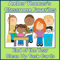 http://www.teacherspayteachers.com/Product/End-of-the-School-Year-Kids-Clean-Up-Task-Cards-257575