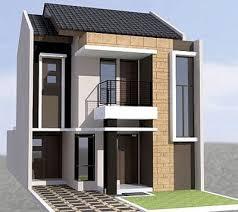 Desain Terbaru Rumah Minimalis 2 lantai Type 36 Paling Nyaman Untuk Hunian 5