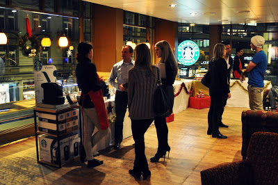 Starbucks Stauffacher Christmas Event 2012