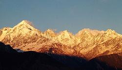 Panchachuli peaks, Munsiyari