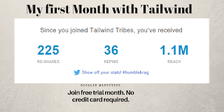 My first month with Tailwind-analytics.