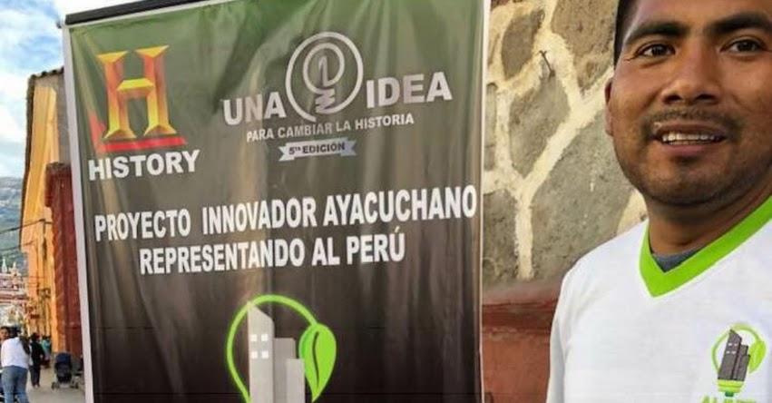 HERNÁN ASTO CABEZAS: Estudiante peruano entre los 10 mejores del mundo en concurso de History Channel