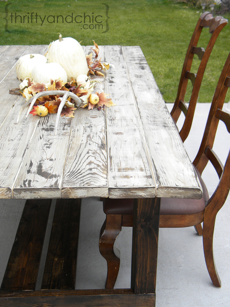 Old Weathered Wood Look Thrifty And Chic Diy Projects Home Decor