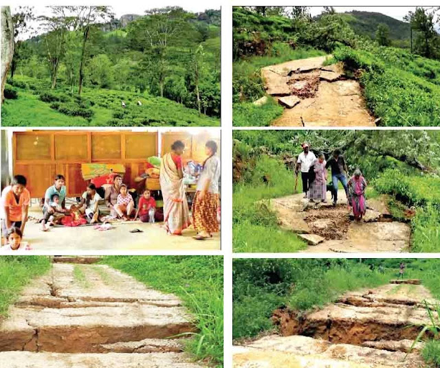 Landslide Prone Area Identified in Hantana