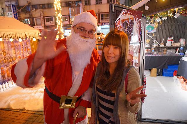 DSC09958 - 台中聖誕市集2017│規模不大吃的少逛的多,但有聖誕老公公可以合照
