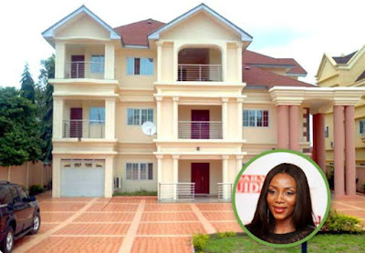 genevieve nnaji mansion in accra ghana