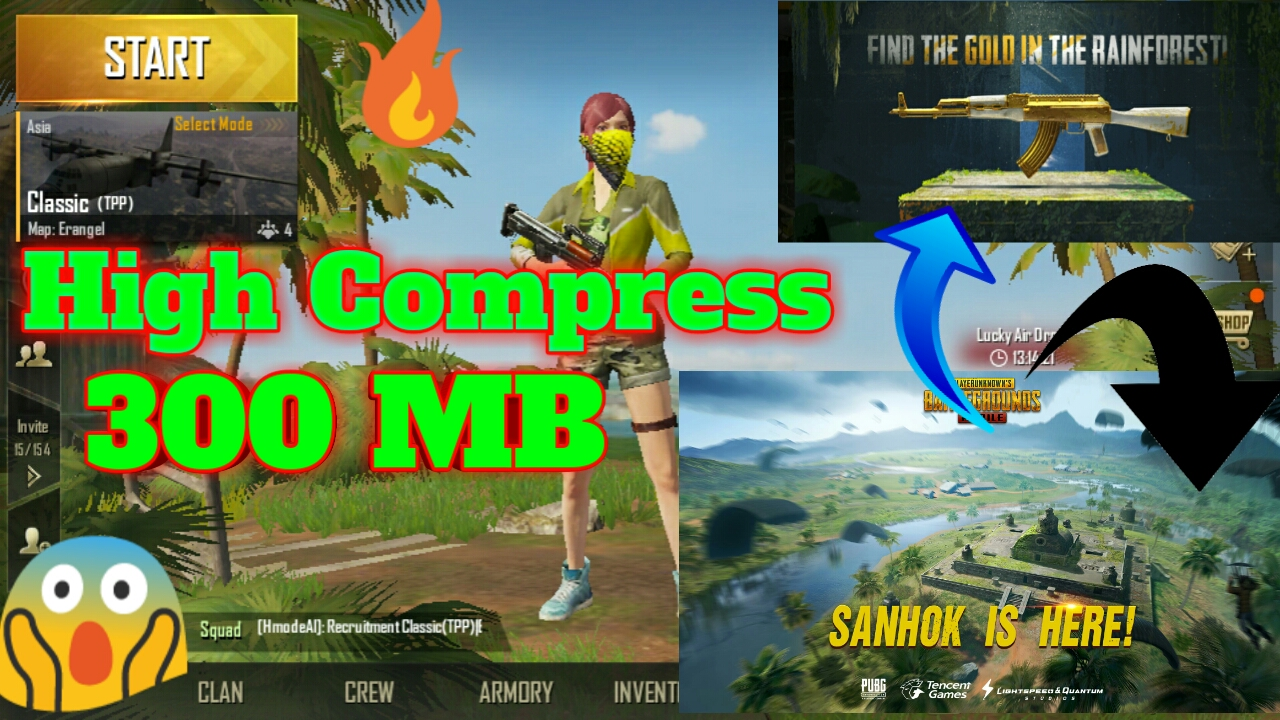 How To Get Ultra Hd Graphics In Pubg Mobile 0 7 5 Pubg: (300 MB) Pt.3🔥 Pubg Mobile V0.8.0 Download High Compress