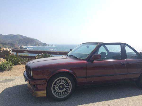 baurspotting 1983 bmw 323i baur e30 san diego craigslist. Black Bedroom Furniture Sets. Home Design Ideas