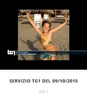 Mia Neri al TG1