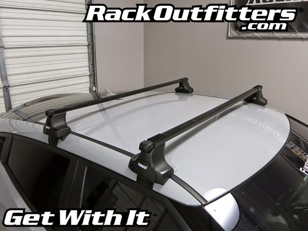 Rack Outfitters Hyundai Veloster Thule Traverse Square