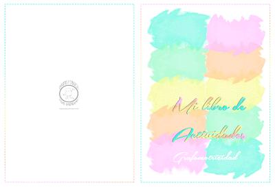 Cuaderno de grafomotricidad para imprimir