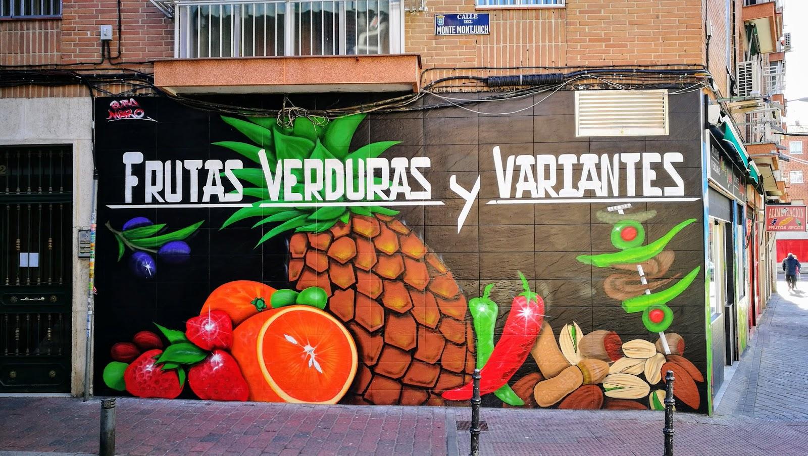 Las Imagenes Que Yo Veo Trampantojos En Madrid K Coloridos