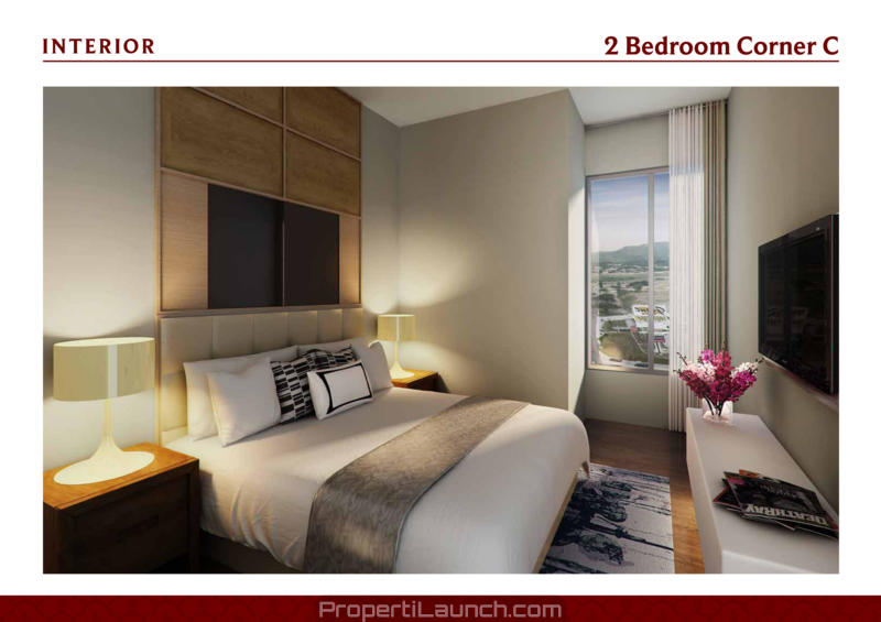 Interior Design Sample 2 BR Saffron Noble Apartment