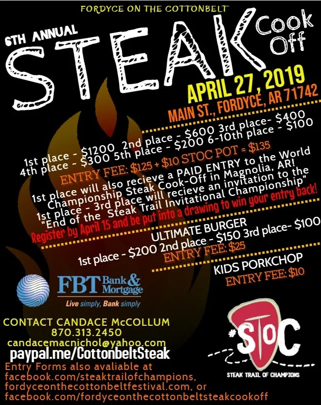 Sixth Annual Steak Cook-off promises delicious steaks and $3250 in total prize money