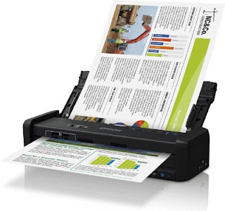The ask to scan documents is express inward a medical practise Epson WorkForce DS-310 Driver Download
