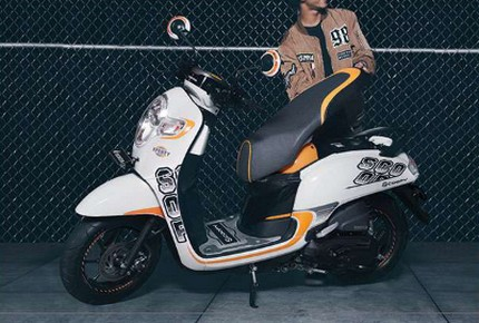 Review Honda Scoopy