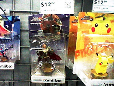 Ganondorf amiibo vandalised vandalized torn box ripped retail