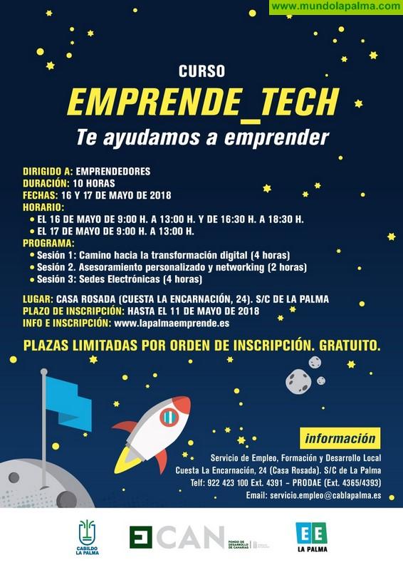 El Cabildo de La Palma fomenta la transformación digital de proyectos empresariales