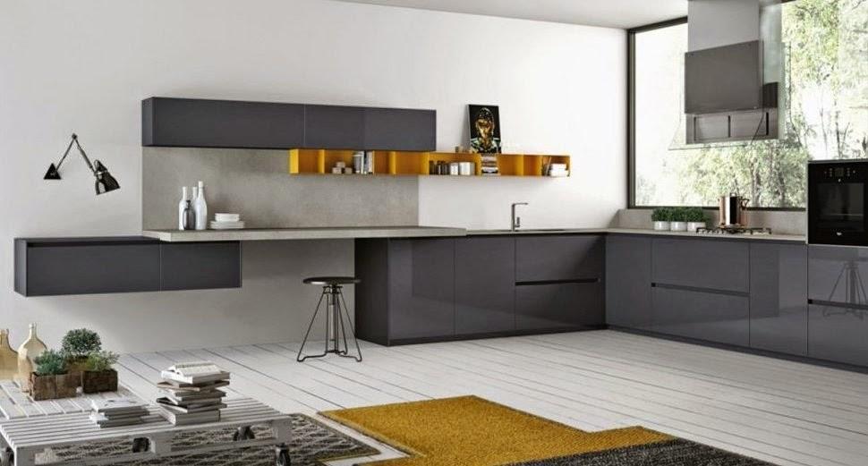 30 modelos de mesas y barras para cocinas de todos los for Altura meson cocina