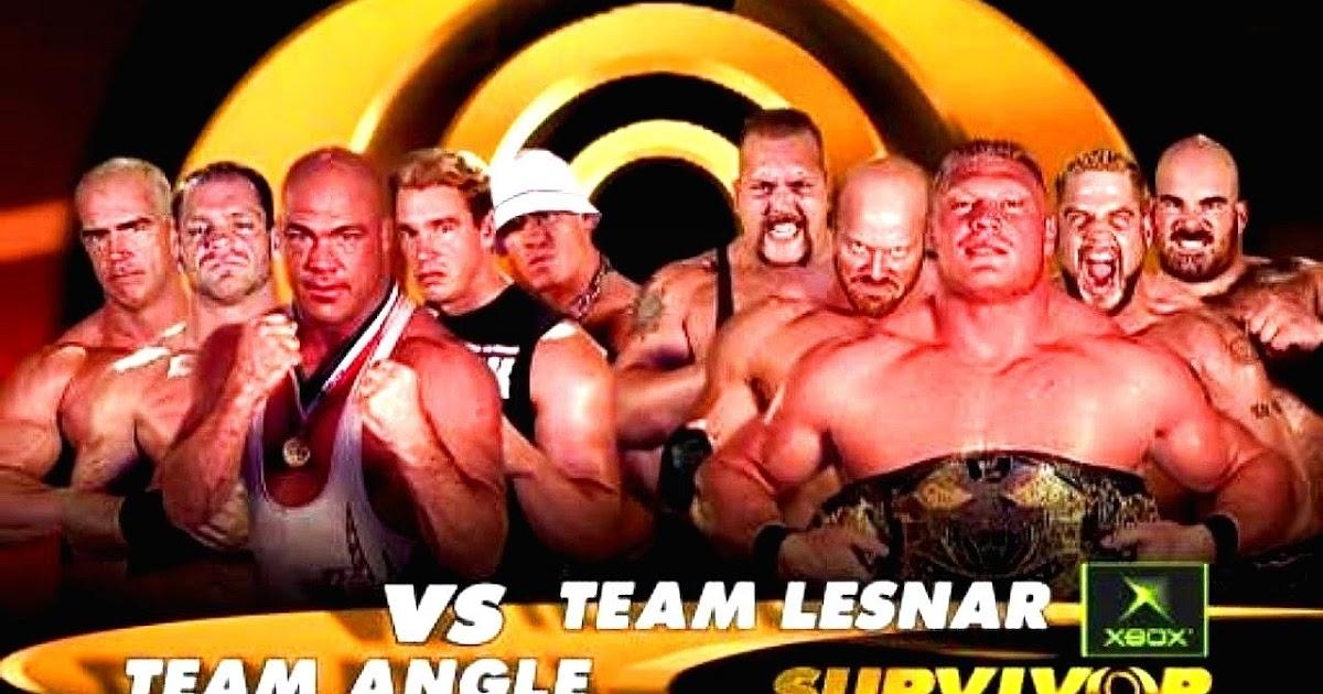Historia del Wrestling: Team Angle vs Team lesnar, WWE Survivor Series 2003