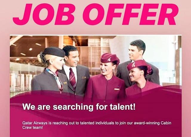 Cabin Crew Recruitment Event Delhi   26th May 2019   Qatar Airways   Doha