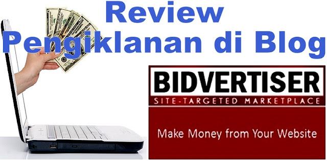 Jana Pendapatan Blog - Review Iklan Bidvertiser